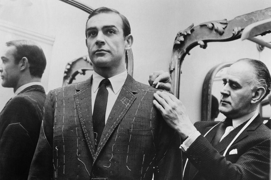 Sean Connery dans la peau de James Bondpour «Bons baisers de Russie», sorti en 1963