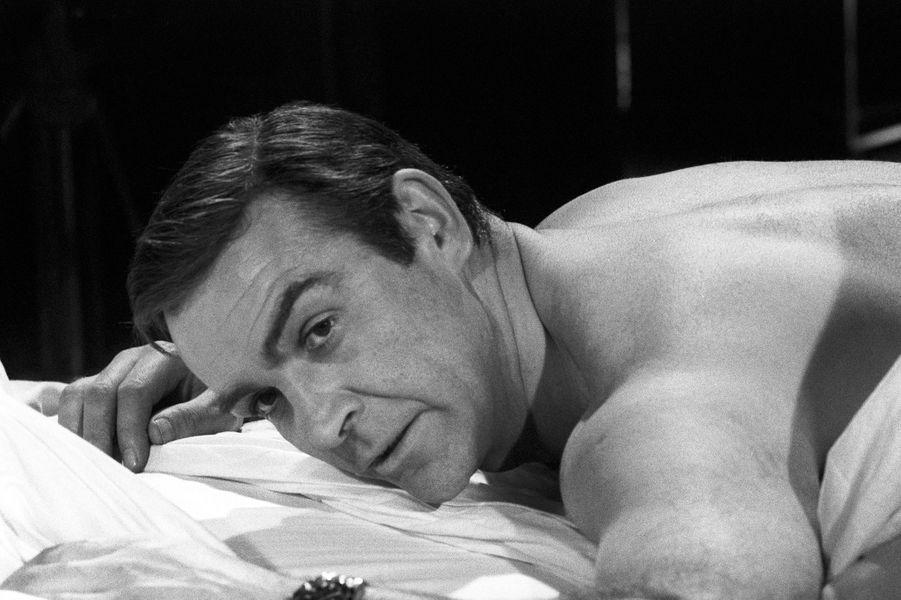 Sean Connery dans la peau de James Bond dans «Opération Tonnerre», sorti en 1965