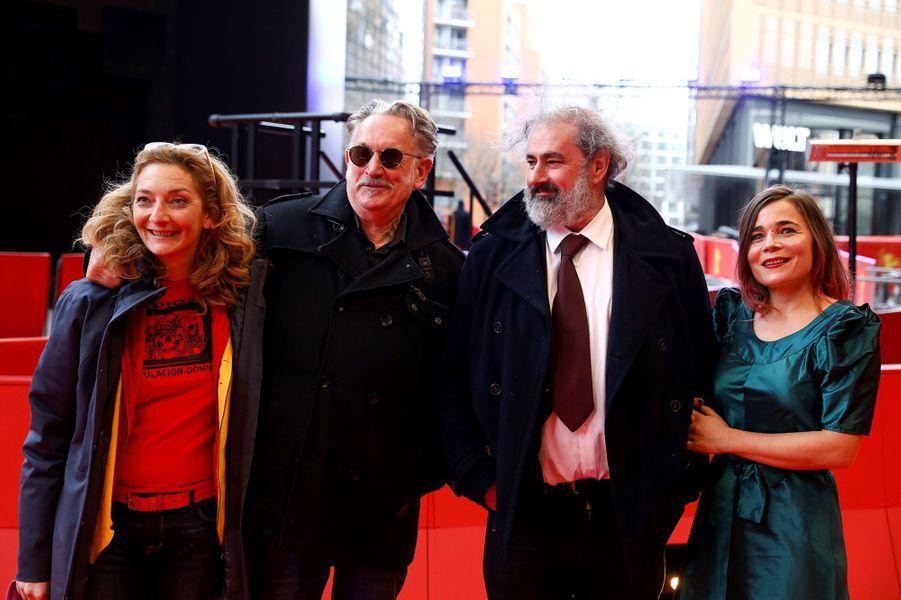 Corinne Masiero, Benoît Delépine, Gustave Kervern et Blanche Gardin