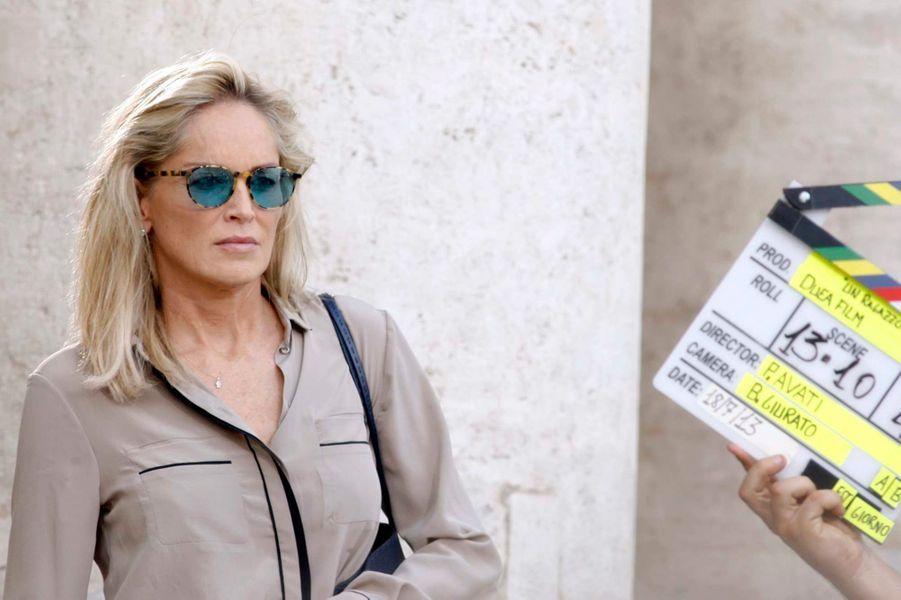 Sharon Stone, une Américaine à Rome