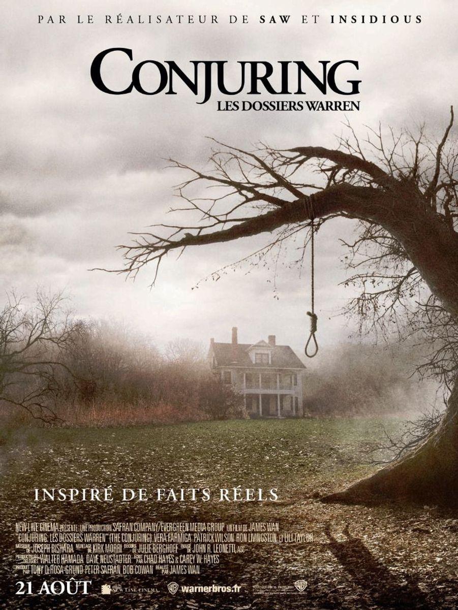 1. «Conjuring: les dossiers Warren» de James Wan