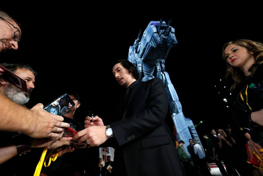 """Star Wars : Les Derniers Jedi"", La Première Mondiale En Photos 29"