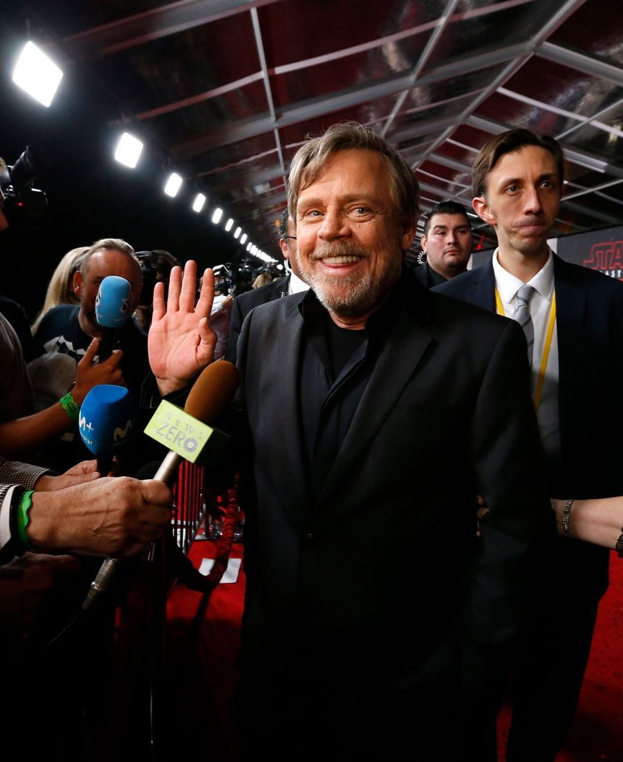 """Star Wars : Les Derniers Jedi"", La Première Mondiale En Photos 35"
