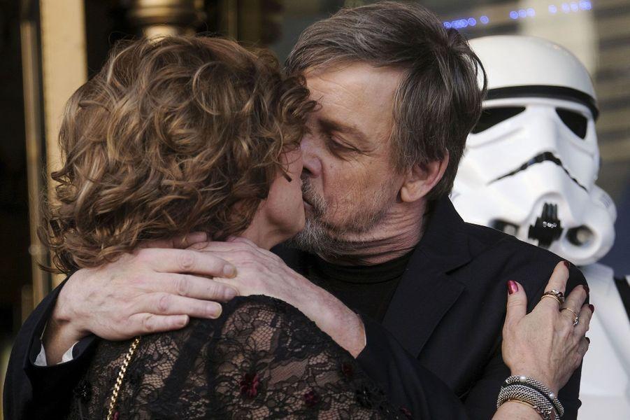 Mark Hamill et sa femmeMarilou York