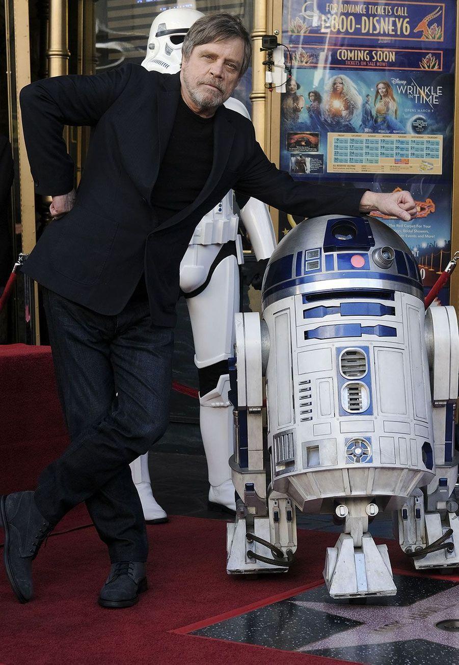 Mark Hamill a inauguré son étoile sur Hollywood Boulevard