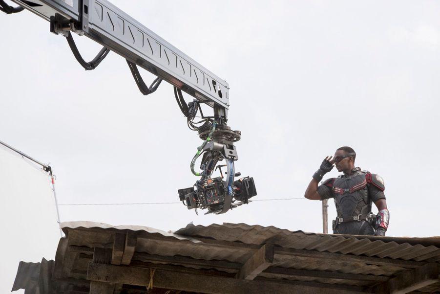 """Sur le tournage de """"Captain America : Civil War"""""""