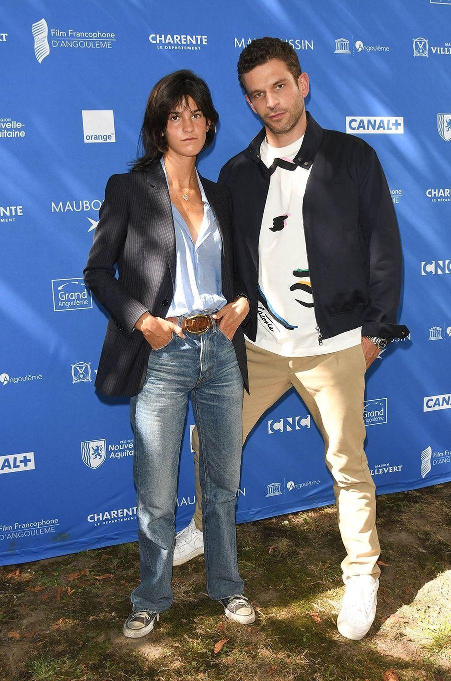 Suzanne Lindon et Arnaud Valoisprésentent «Seize printemps» auFestival du film francophone d'Angoulême le 1er septembre 2020