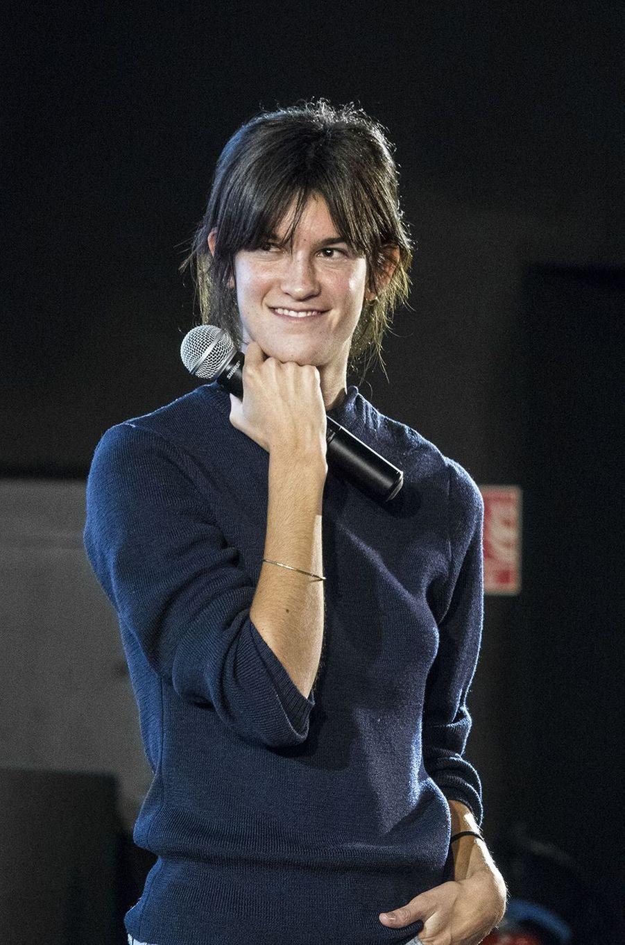 Suzanne Lindon présente son film«Seize printemps» auFestival Lumière à Lyon le 14 octobre 2020