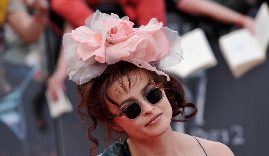 La femme de Tim Burton interprète le rôle de la machiavélique Beatrix Lestrange.