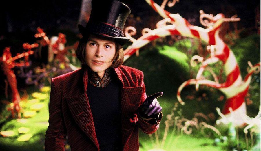 Quatrième collaboration pour les deux hommes et quatrième succès. Johnny Depp incarne Willy Wonka, propriétaire d'une fabrique de chocolat.
