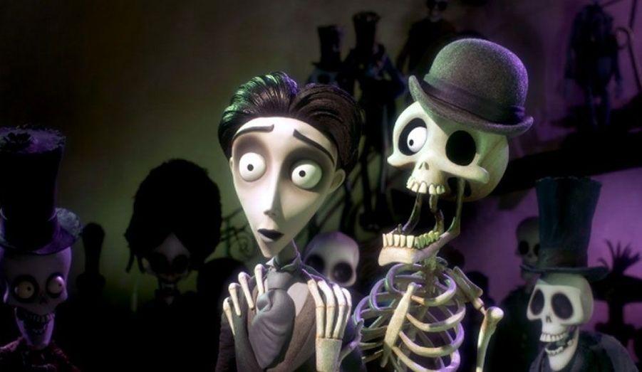 Après «L'étrange Noël de Monsieur Jack», Tim Burton sort un nouveau film d'animation. Johnny Depp prête ici sa voix au personnage de Victor Van Dort.