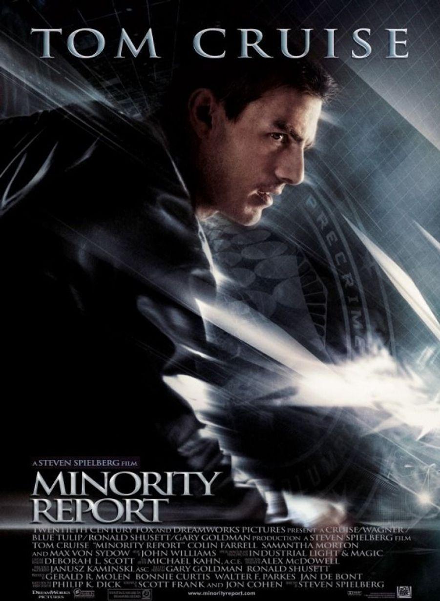"""2. """"Minority Report"""" de Steven Spielberg"""
