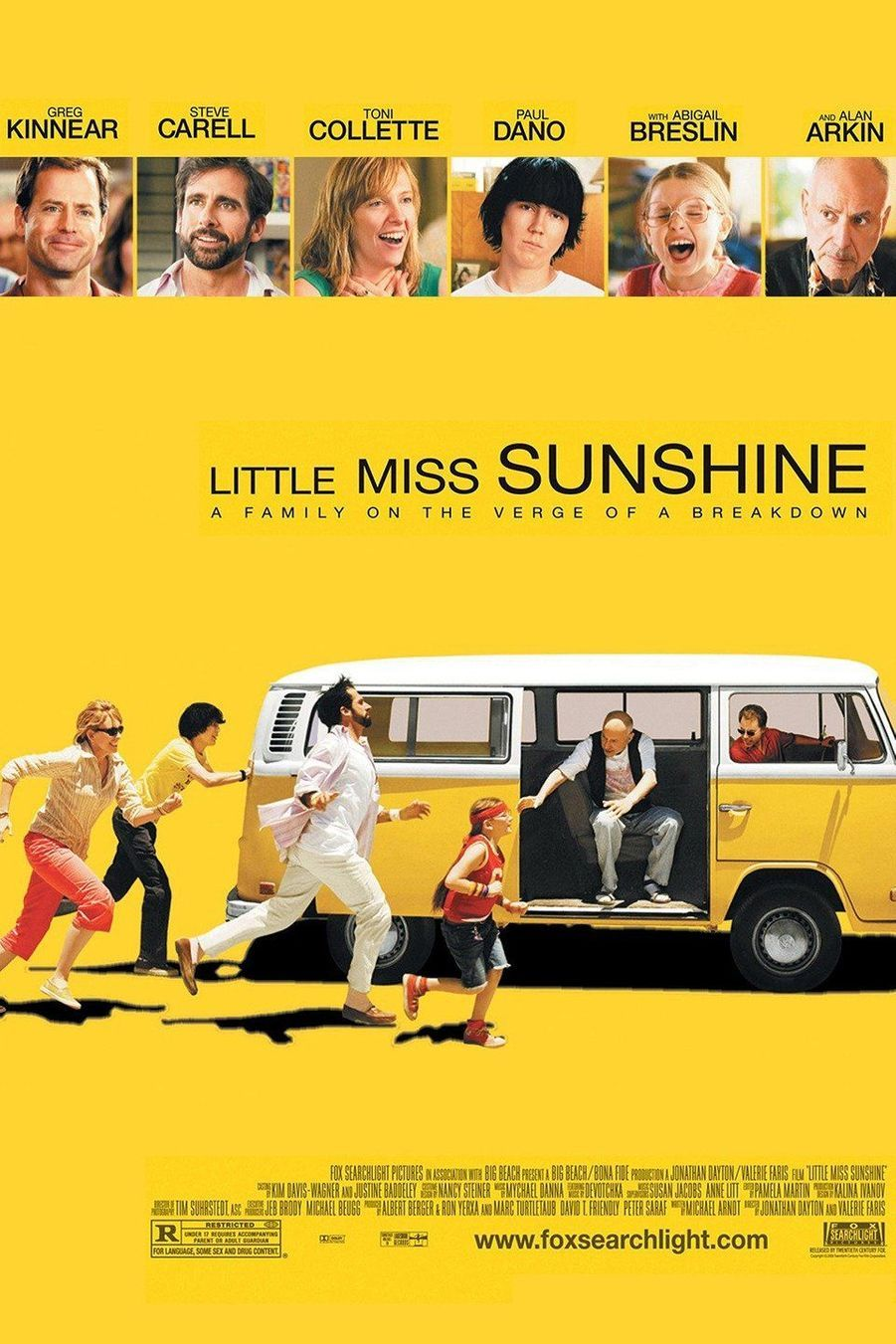 "6. ""Little Miss Sunshine"" de Jonathan Dayton et Valerie Faris"