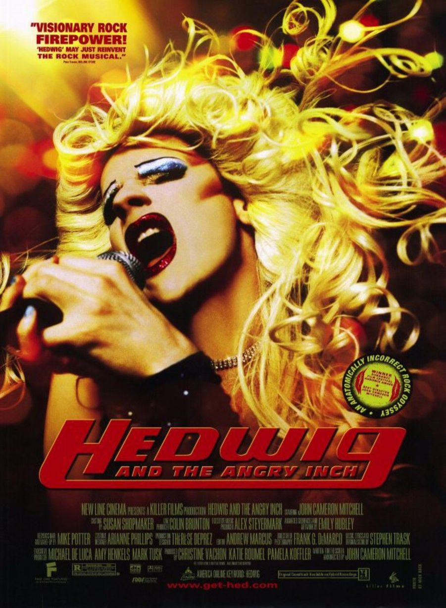 7. Hedwig and the Angry Inch de John Cameron Mitchell