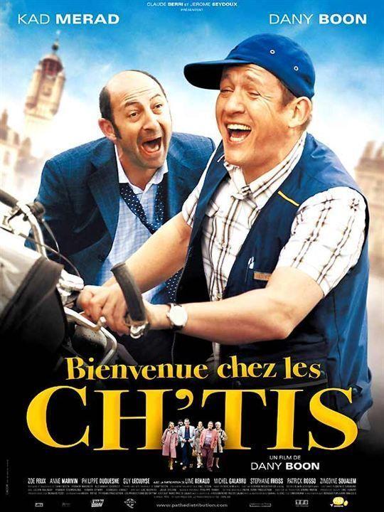 «Bienvenue chez les Ch'tis» de Dany Boon (prix spécial du jury 2008)