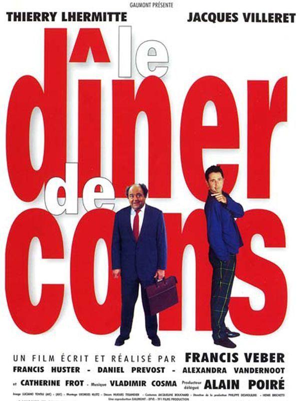 «Le Diner de cons» de Francis Veber (1998)