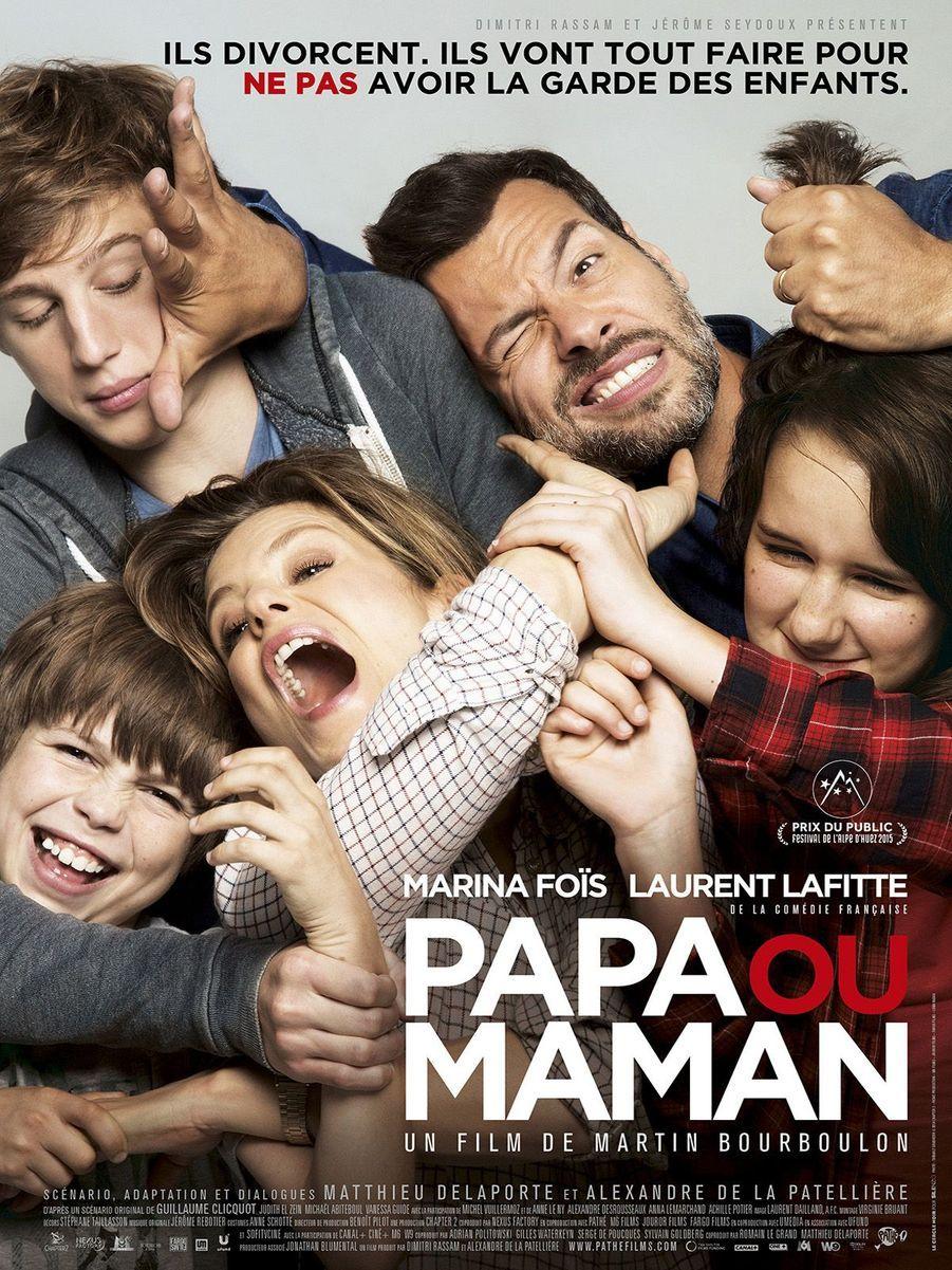 «Papa ou maman» de Matin Bourboulon (prix du public 2015)