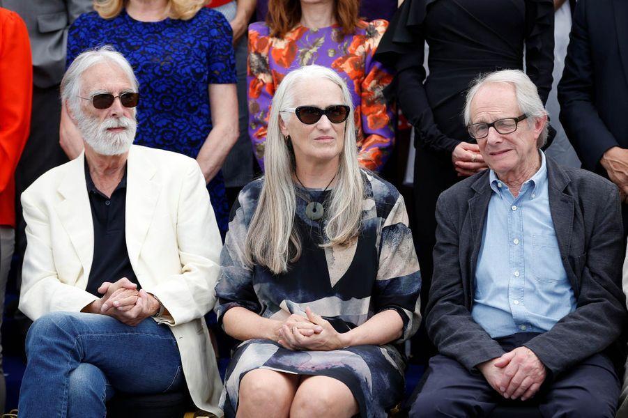 Michael Haneke, Jane Campion et Ken Loach