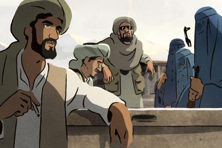 «Les Hirondelles de Kaboul» de Zabou Breitman et Eléa Gobé MévellecLe synopsis :Été 1998, Kaboul en ruines est occupée par les talibans. Mohsen et Zunaira sont jeunes, ils s'aiment profondément. En dépit de la violence et la misère quotidiennes, ils veulent croire en l'avenir. Un geste insensé de Mohsen va faire basculer leurs vies.