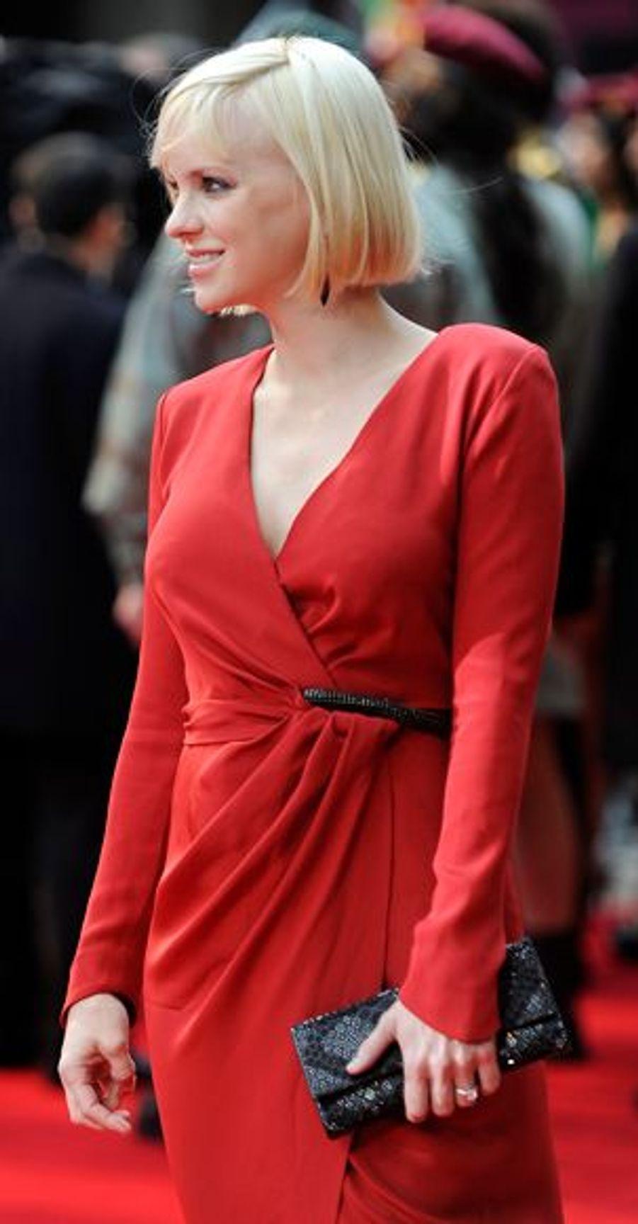 La belle Américaine tient un des premiers rôles féminins.
