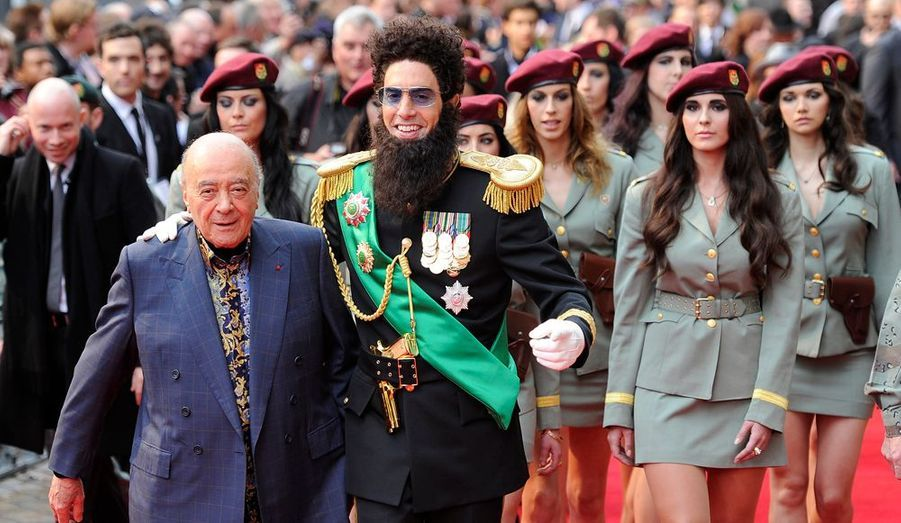 Avec Mohamed Al Fayed