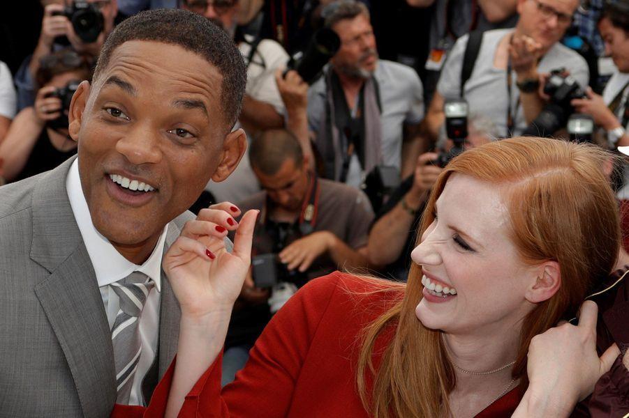 Will Smith et Jessica Chastain