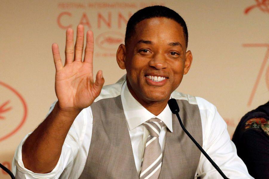Will Smith lors de la conférence de presse.