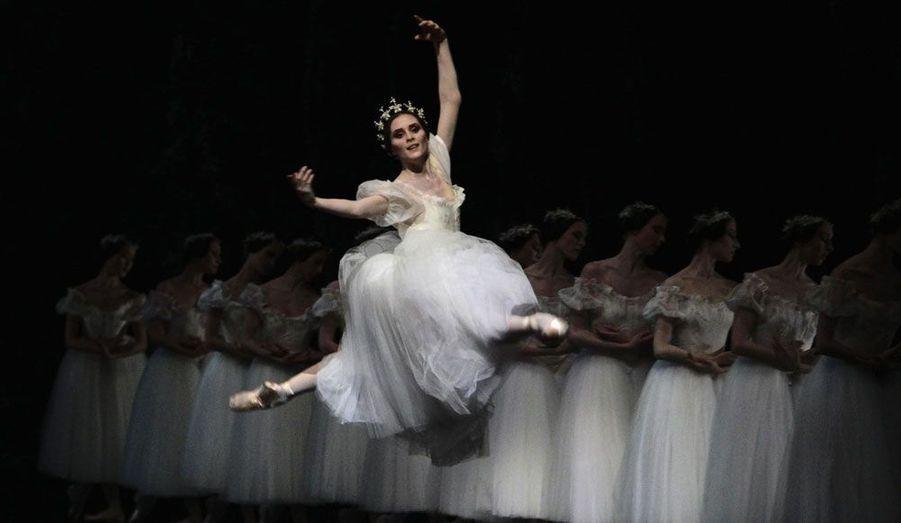 Les danseuses de l'Opéra de Paris présentent en ce moment le Ballet «Giselle» au théâtre de l'Esplanade à Singapour.