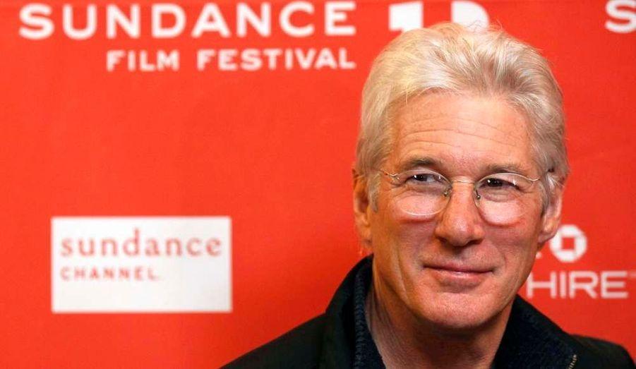 """Richard Gere a fait le déplacement jusqu'à Park City et la présentation d'""""Arbitrage"""" de Nicholas Jarecki au Festival de Sundance, film dont il tient le premier rôle."""