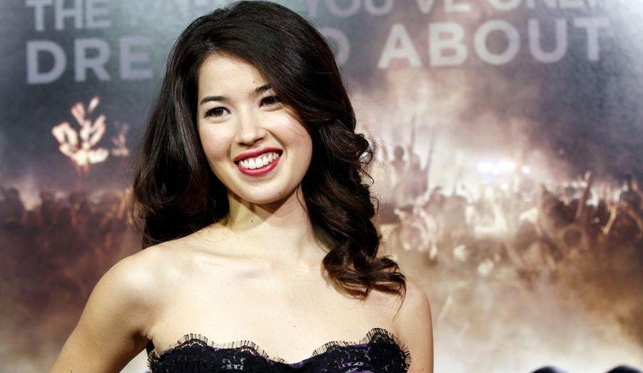 """La délicieuse Nichole Bloom prend la pose lors de l'avant-première de """"Project X"""" au Grauman's Chinese theatre d'Hollywood. Le film sortira le 2 mars prochain aux Etats-Unis."""