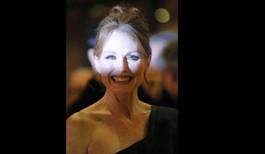Julianne Moore a reçu mardi le prix Marco Aurelio, pour l'ensemble de sa carrière, au Festival du film de Rome.