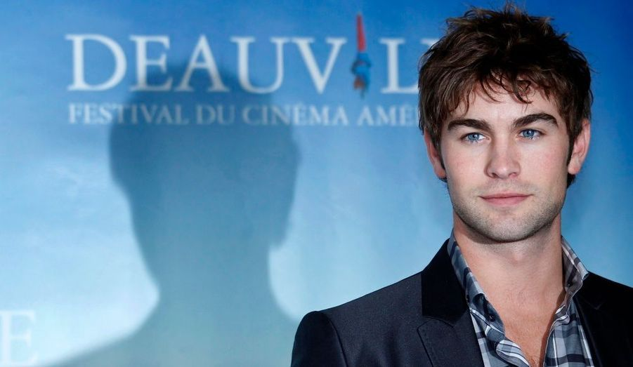 L'acteur américain Chace Crawford est venu présenter le film Twelve au 36eme Festival du Cinéma américain de Deauville, hier.