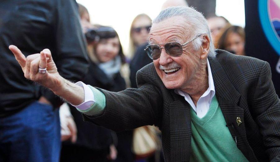 Le grand dessinateur de comic-book, Stan Lee, a été consacré par une étoile sur le célèbre Walk of Fame d'Hollywood. Un grand moment pour le créateur de Spider-Man.