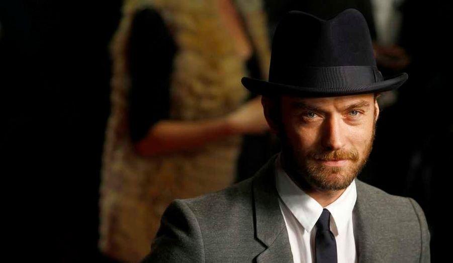 Jude Law à la première européenne du film 360, à Leicester Square à Londres.
