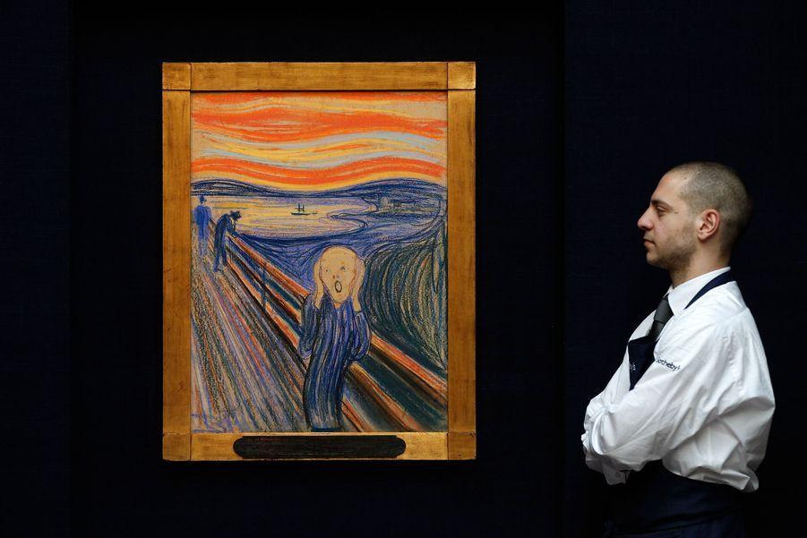 """Le 2 mai prochain, à New York, sera mis en vente le célèbre """"Cri"""" d'Edvard Munch. Son prix estimé ? 80 millions de dollars."""