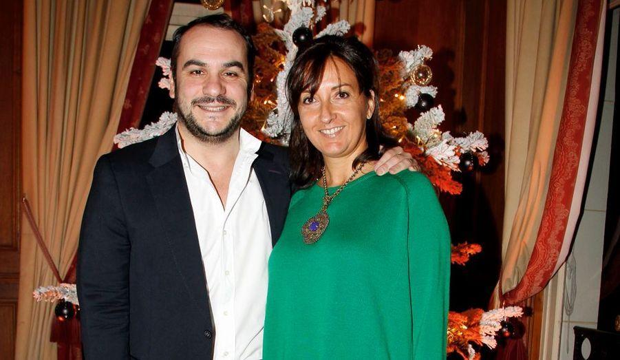 Emmanuelle et François-Xavier Demaison, fins gourmets.