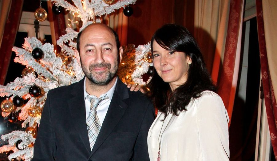 Kad Merad et sa femme, Emmanuelle Cosso-Merad, écrivain.