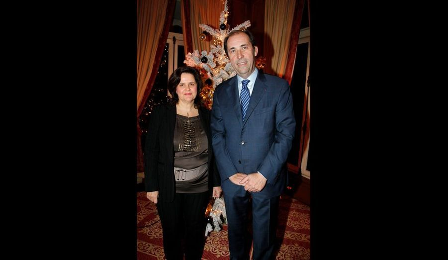Patrick Scicard, président de Lenôtre, et Nathalie Szabo, directrice de Sodexo Prestige.