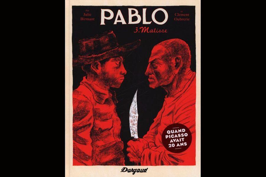 Dans ce troisième épisode de Pablo, Picasso fait vivre à Fernande un western à dos d'âne dans le village le plus reculé de Catalogne : Gosol. Là, il fricote avec des contrebandiers primitifs. Son art s'épure et il crée de nouveau ; les chefs-d'oeuvre s'accumulent. Une nuit, le couple doit fuir une prétendue épidémie de typhoïde. Picasso serait-il paranoïaque? Fernande en est persuadée. Mais de retour dans leur atelier parisien étrangement dévasté, elle commence à douter... Et si Dieu se jouait vraiment de Pablo?On avait été déçu par le tome 2, plutôt confus sur le plan narratif. Le tome 3 remet les pendules à l'heure et confirme le grand talent du duo pour raconter la grande histoire de la peinture. Et parvenir à nous faire comprendre l'évolution de l'artiste Pablo Picasso n'est pas le moindre des défis à relever. Dargaud