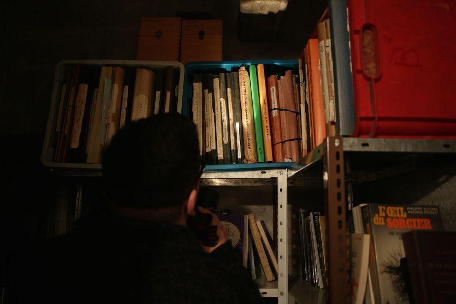 Archives privées du commandant degendarmerie Émile Tizané, Passy, février 2016.