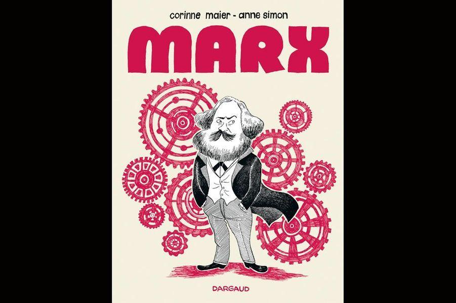 """«Je m'appelle Karl Marx. On m'a surnommé """"le Diable"""", car j'ai voulu mettre à mort le capitalisme. Il faut libérer l'humanité de la misère et des inégalités. Votre crise ressemble à celles que j'ai vécues. Alors une seule solution: la révolution!»Le marxisme pour les nuls? La BD de Corinne Maier et Anne Simon aborde la pensée du philosophe avec humour mais sans ironie, pour mieux nous faire comprendre les mécanismes du communisme.Dargaud"""