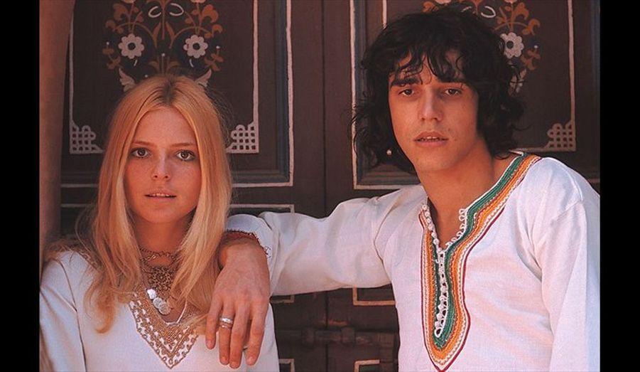 Julien Clerc et France Gall au Maroc en 1967