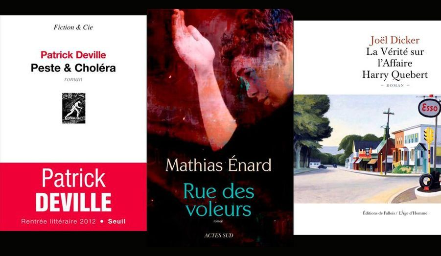 La saison des prix littéraires bat son plein. Retrouvez dans ce diaporama les lauréats des principales récompenses de la rentrée littéraire 2012.