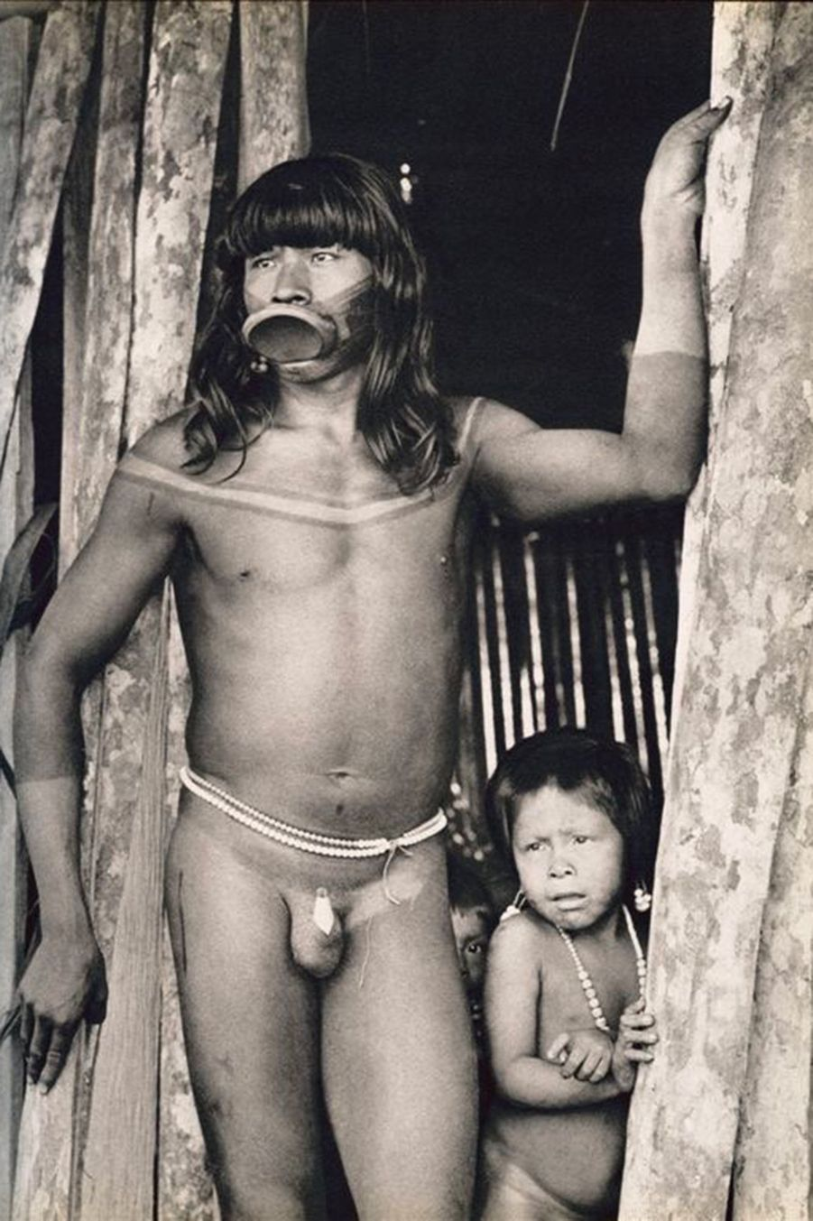 Raoni jeune, vers 1962