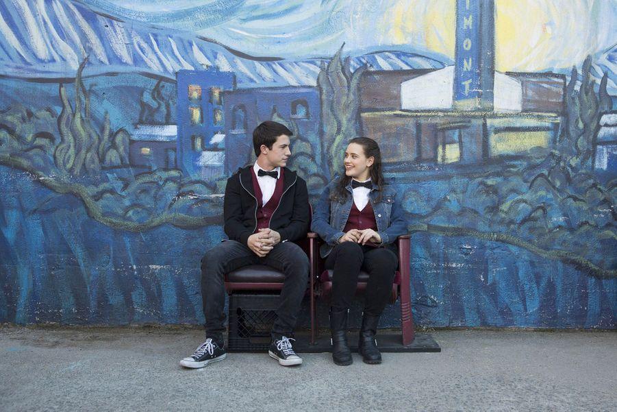 Dylan Minnette et Katherine Langford