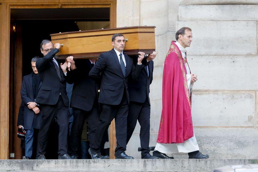 Les obsèques de Pascale Roberts vendredi 8 novembre, à Paris