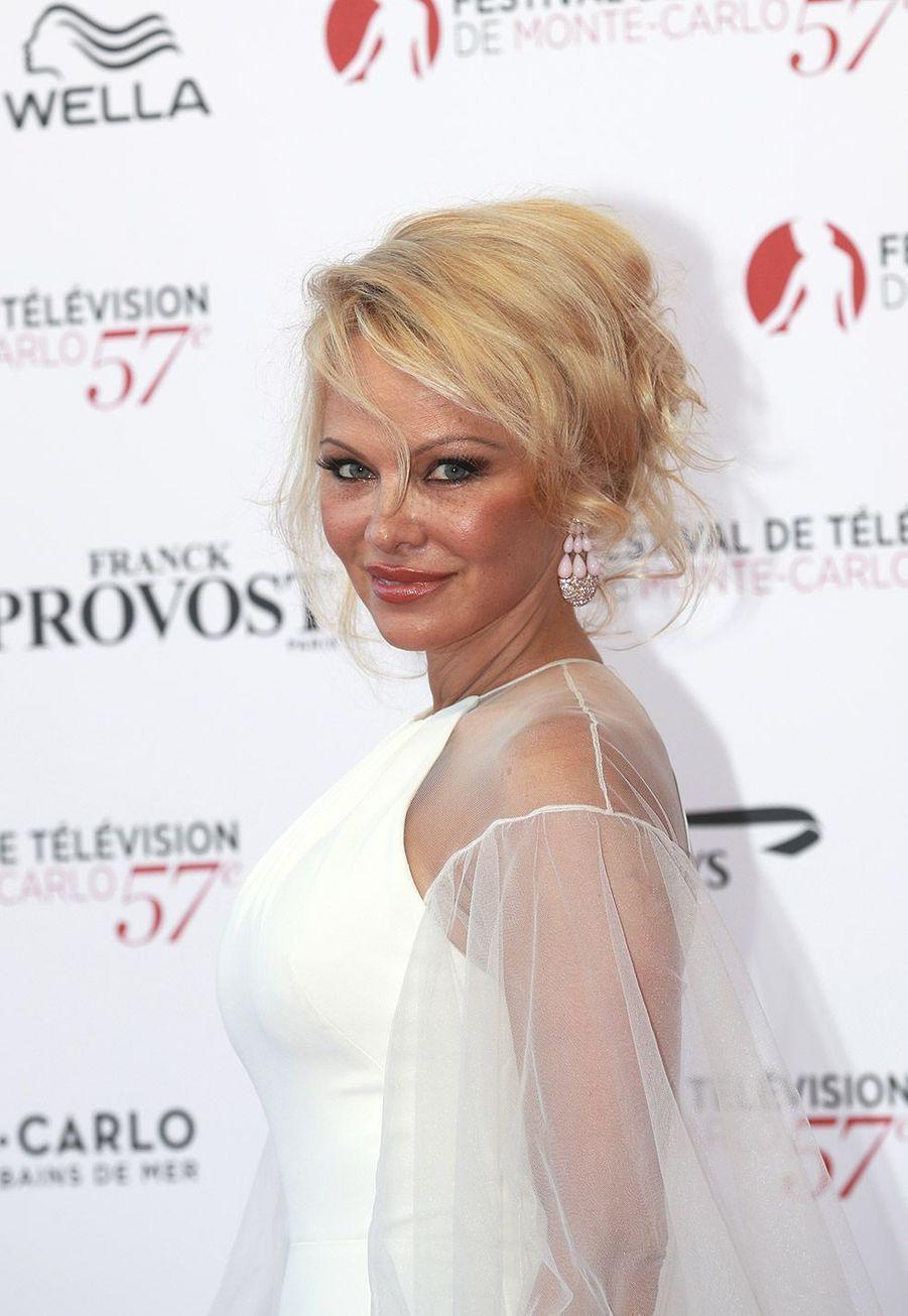 Pamela Anderson (C.J. Parker) en 2017