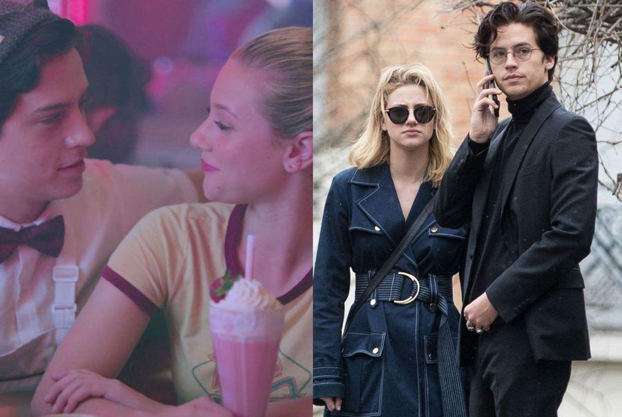 """Cole Sprouse et Lili Reinhart de """"Riverdale"""""""