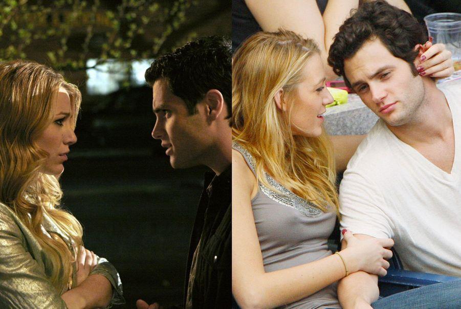 """Blake Lively et Penn Badgley de """"Gossip Girl"""""""