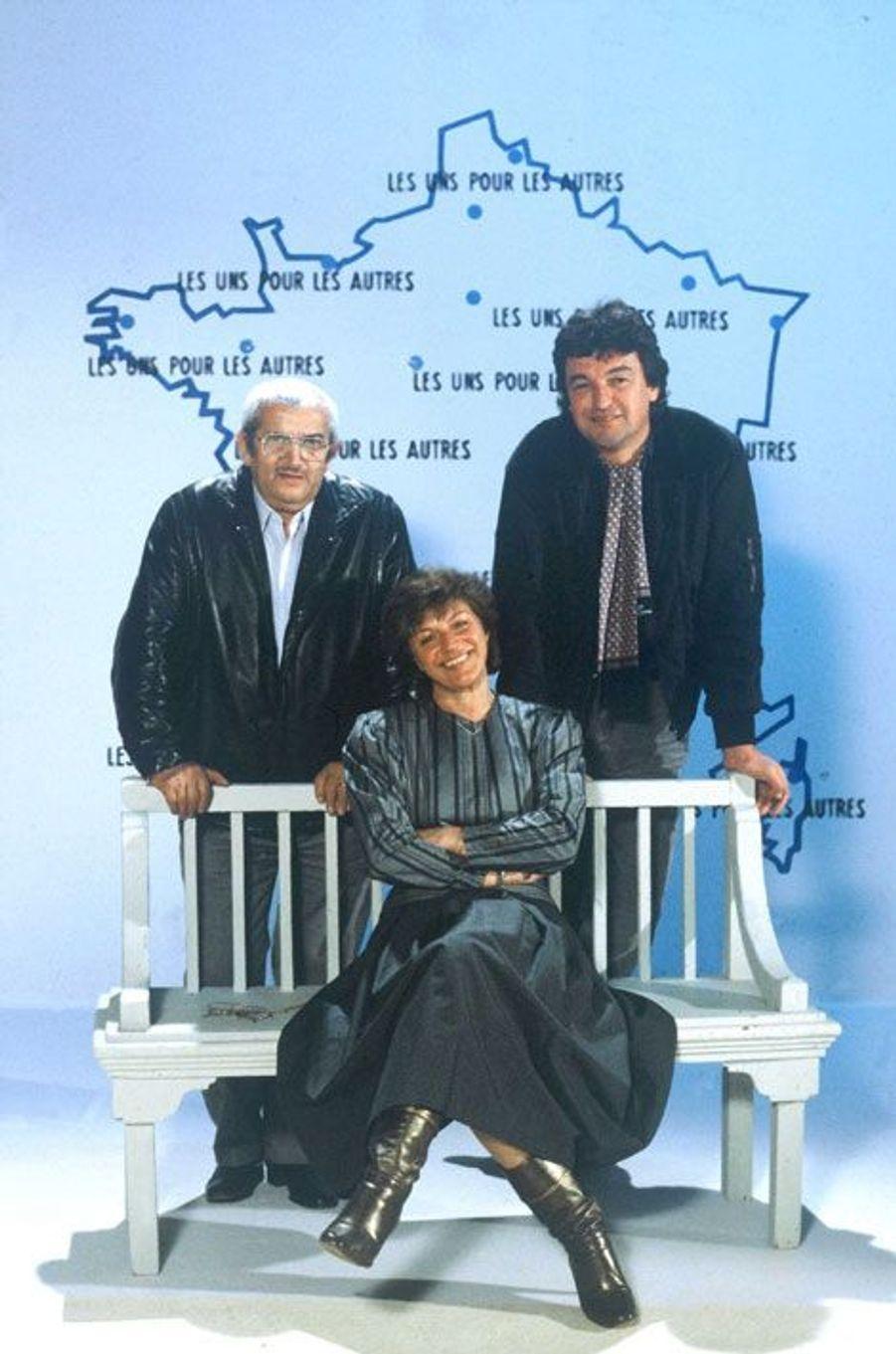 1983 : Anne-Marie Peysson, Guy Bontempelli et Roger Pradines